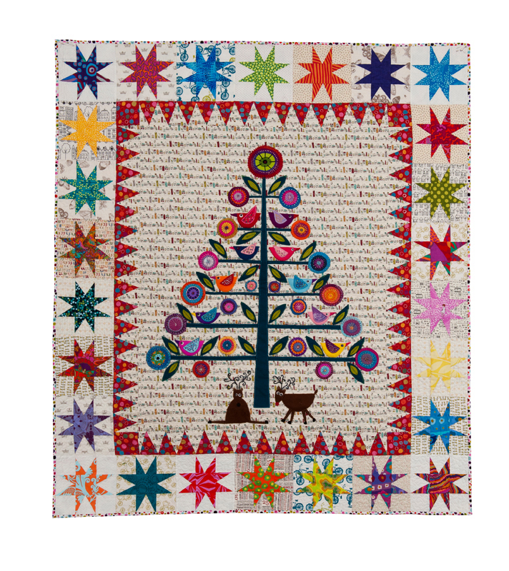 Oh Christmas Tree Quilt-Kit - Material Obsession