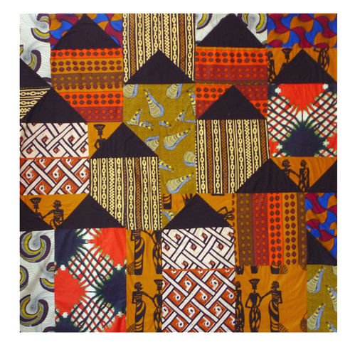 African Huts-Pattern