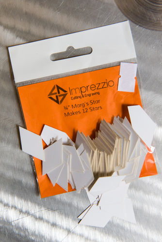 "3/4"" Margs Stars Papers"