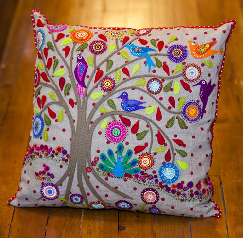 Birdsville Cushion - Pattern