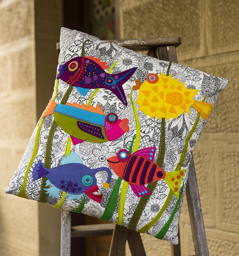 Something Fishy Cushion -Kit