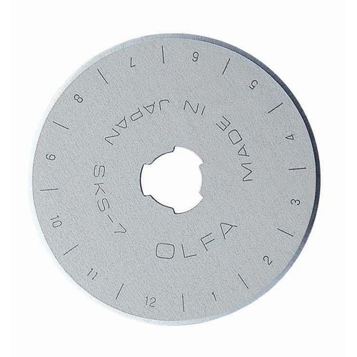 45mm Olfa rotary cutter spare blades