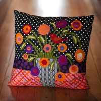 STILL LIFE CUSHION kit - Red