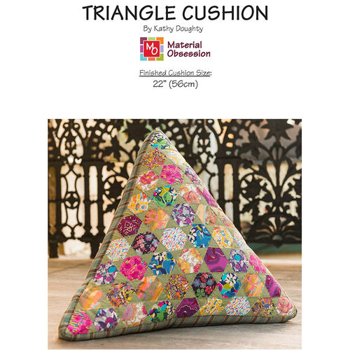 Triangle Cushion-Pattern