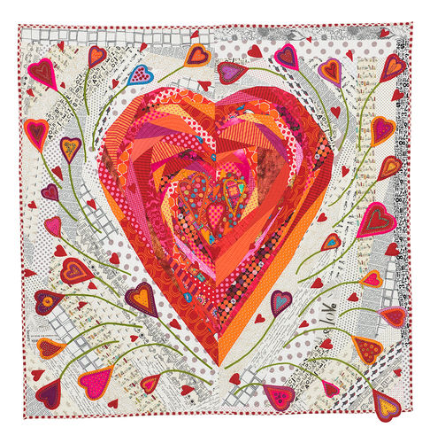 Pieces of my Heart Quilt-Pattern