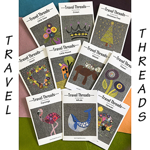 STITCHERIES-TRAVEL THREADS