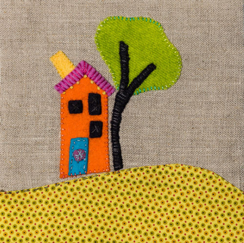 Little House - Stitchery
