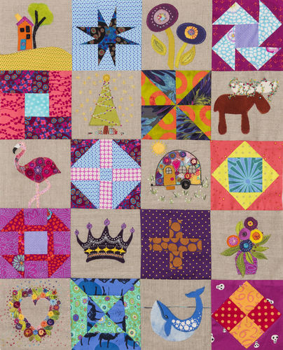 Travel Threads - 10 x Pieced Block Patterns