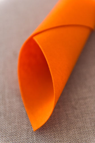 Light Orange Felt