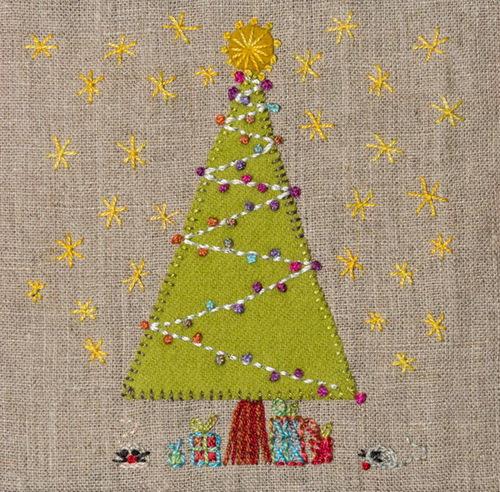 Christmas Tree - Stitchery kit