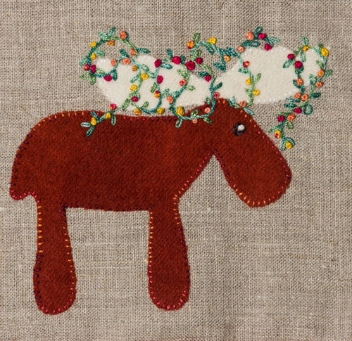 Moose - Stitchery kit