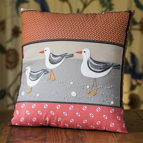 Sea Gulls Cushion - Kit
