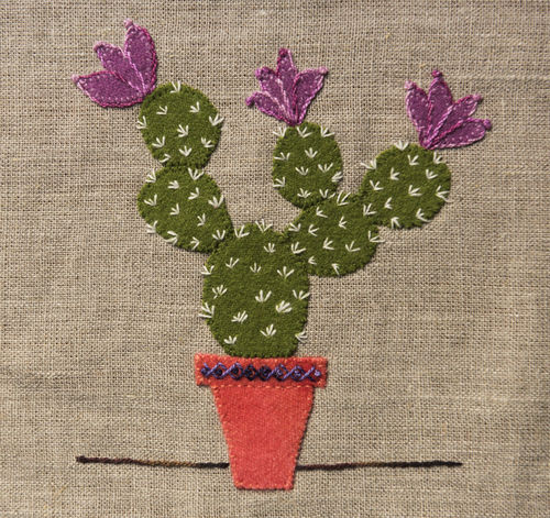 Cactus - Stitchery kit