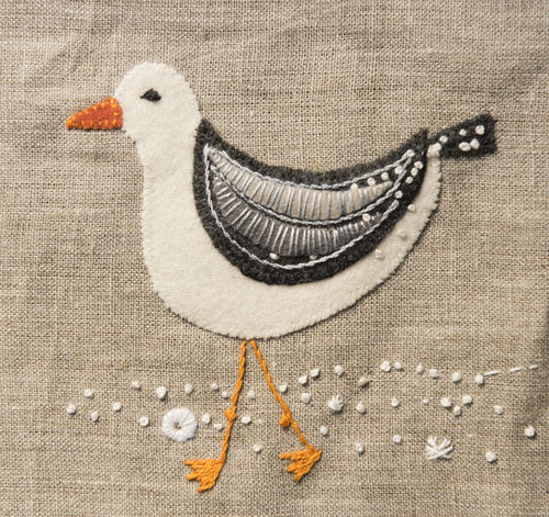 Seagull - Stitchery kit