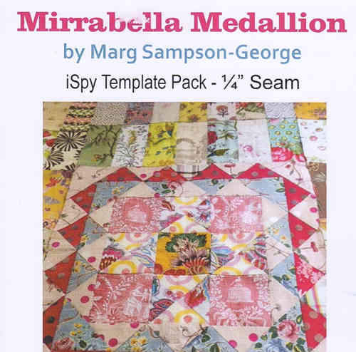 Mirabella Medallion template set