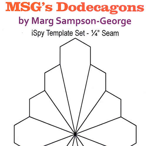 MSG Dodecagons Template set