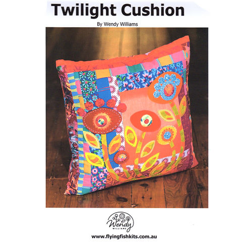 TWILIGHT cushion - pattern