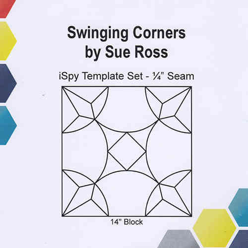 Swinging Corners template set
