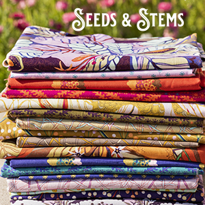 SEEDS & STEMS by Kathy Doughty for FreeSpirit Fabrics
