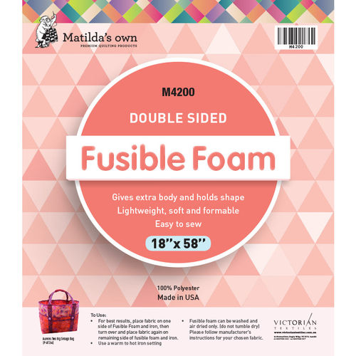 Double Sided Fusible Foam
