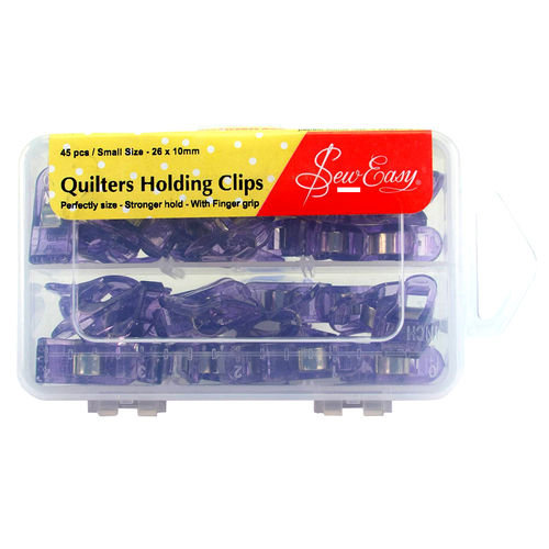 Sew Easy Quilters Holding Clips
