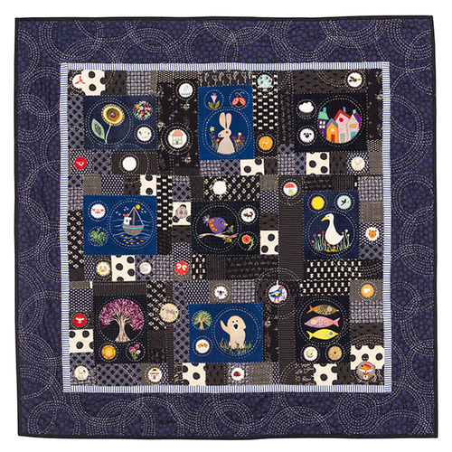 Thought Bubbles Quilt-Pattern