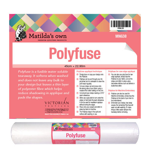Polyfuse roll - Applique paper