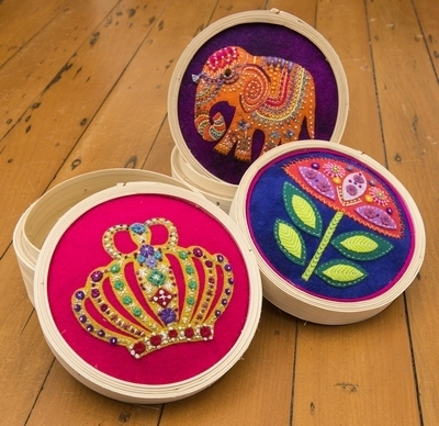 Bamboo Sewing Baskets - Pattern