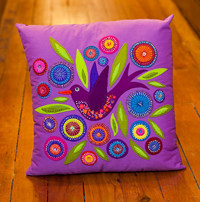 Flying Bird Cushion - pattern
