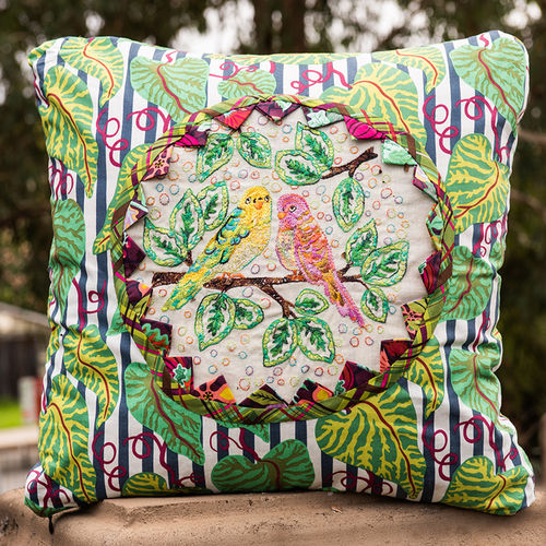 Budgies In The Jungle - Pattern